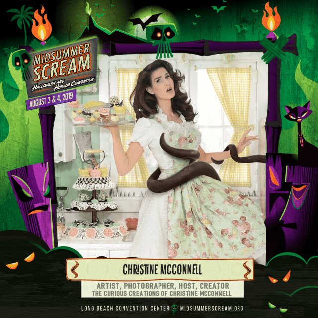 [News] Artist Christine McConnell Coming to MIDSUMMER SCREAM 2019