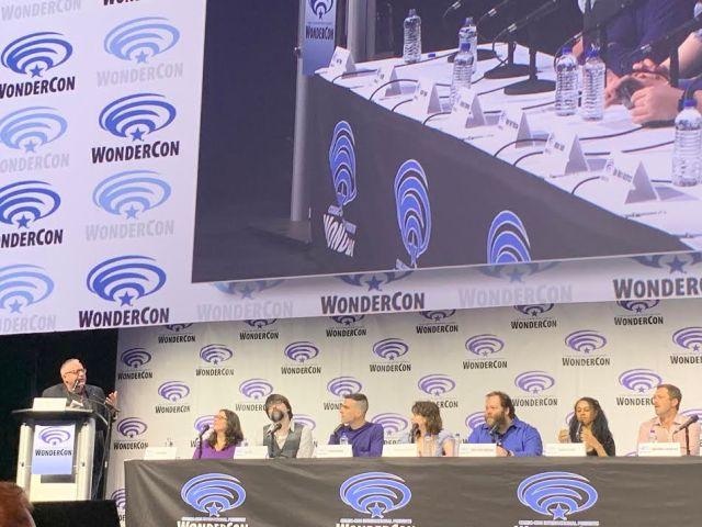 Clark Collin moderates the NOS4A2 Panel at Wondercon