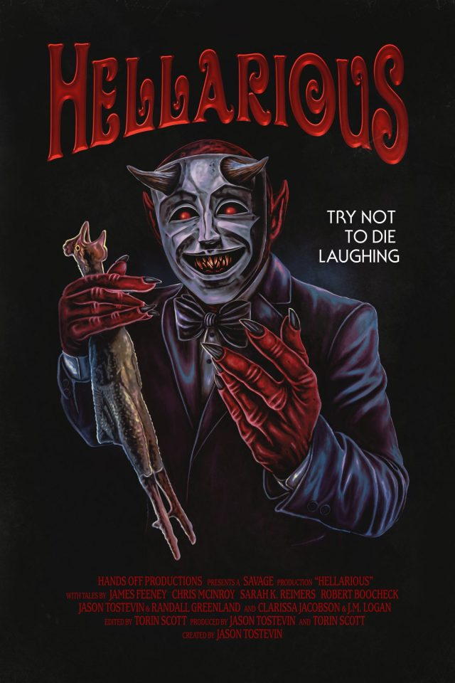 [News] New Horror-Comedy Collection HELLARIOUS Coming This September