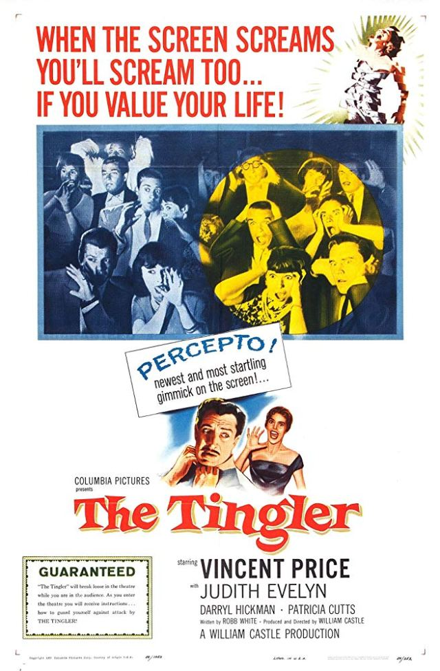 Horrible Imaginings Film Review: THE TINGLER in PERCEPTO - 60th Anniversary