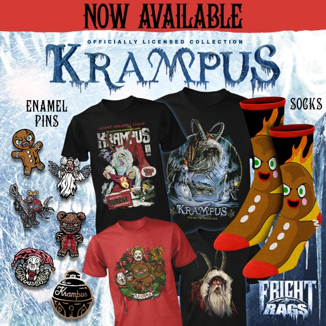 [News] Fright-Rags Celebrates the Holidays with Krampus Merch