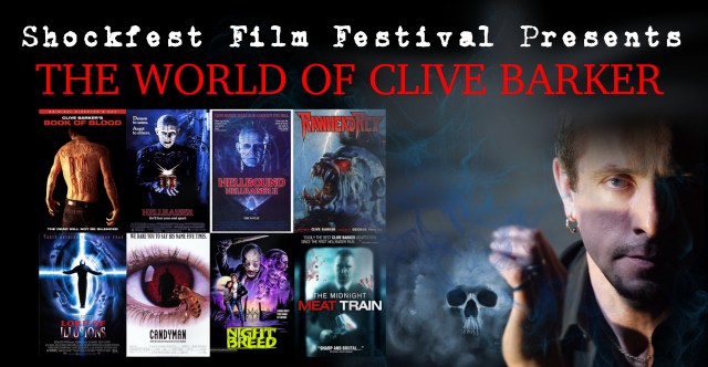 [News] Horror Icon Clive Barker Making Special Appearance at Shockfest Film Festival