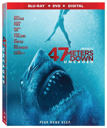 [News] 47 METERS DOWN: UNCAGED Now Available on Blu-ray, DVD and Digital!