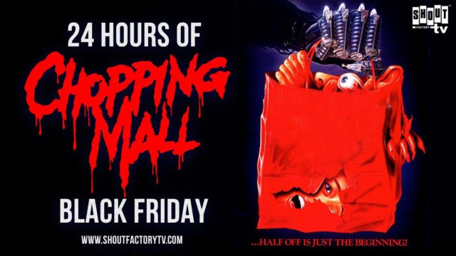 [News] Celebrate Black Friday with Shout Factory's Livestream of CHOPPING MALL