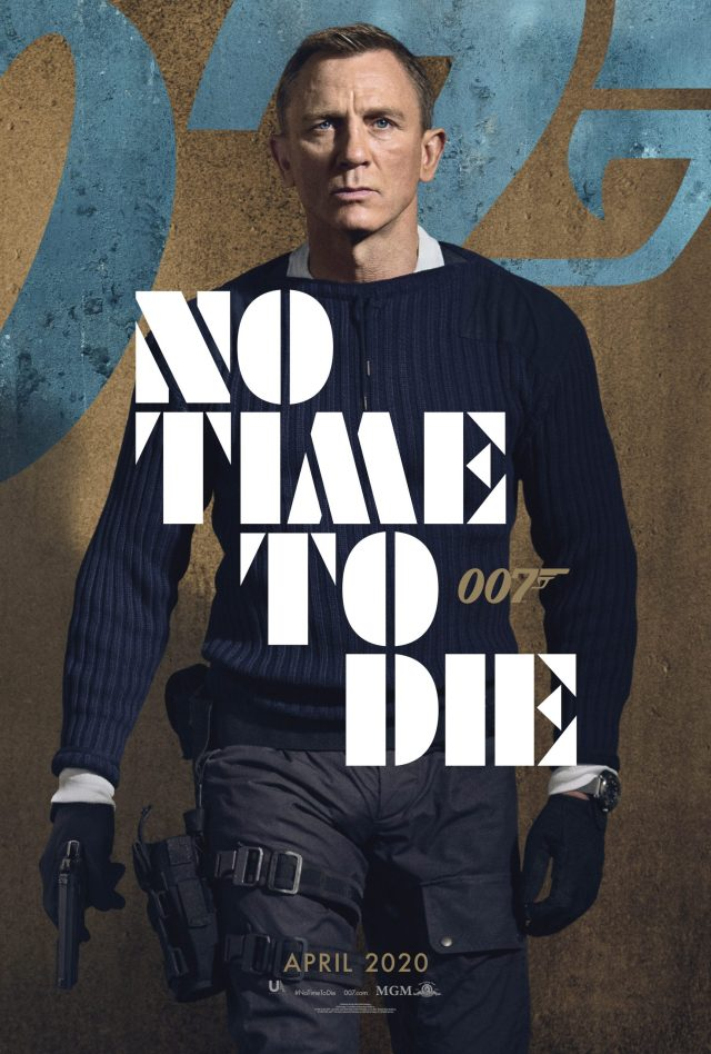 [News] Check Out Character Posters from NO TIME TO DIE