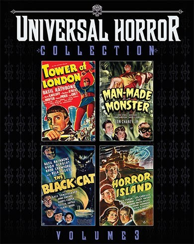 [Blu-ray/DVD Review] UNIVERSAL HORROR COLLECTION VOL. 3