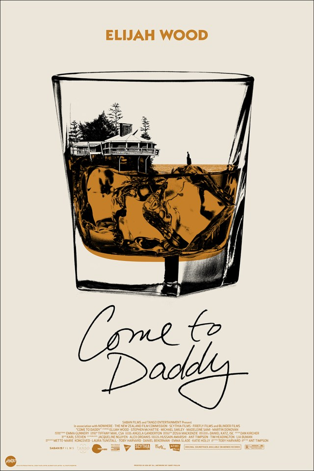 [News] COME TO DADDY Gets New Mondo Poster by Gary Pullin