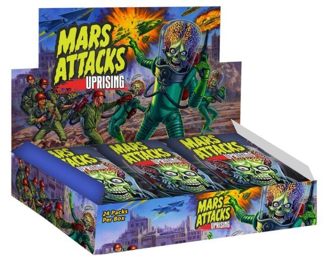 [News] Topps' New Licensed MARS ATTACKS Card Set from SideKick Lab Funds on Kickstarter