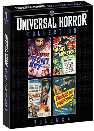 [News] Scream Factory Presents UNIVERSAL HORROR COLLECTION VOL. 4 This March