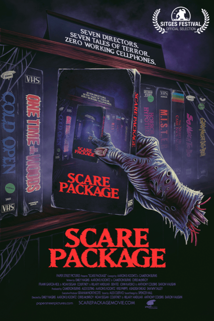 [News] New Horror-Comedy Anthology SCARE PACKAGE Reveals First Trailer
