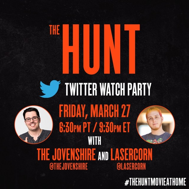 [News] THE HUNT, THE INVISIBLE MAN, & EMMA Twitter Watch Parties This Weekend!