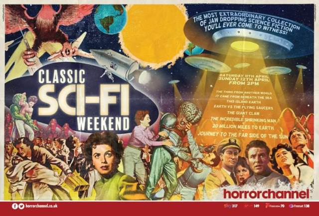 [News] Horror Channel Celebrates Sci-Fi B-Movies with Classic Sci-Fi Weekend