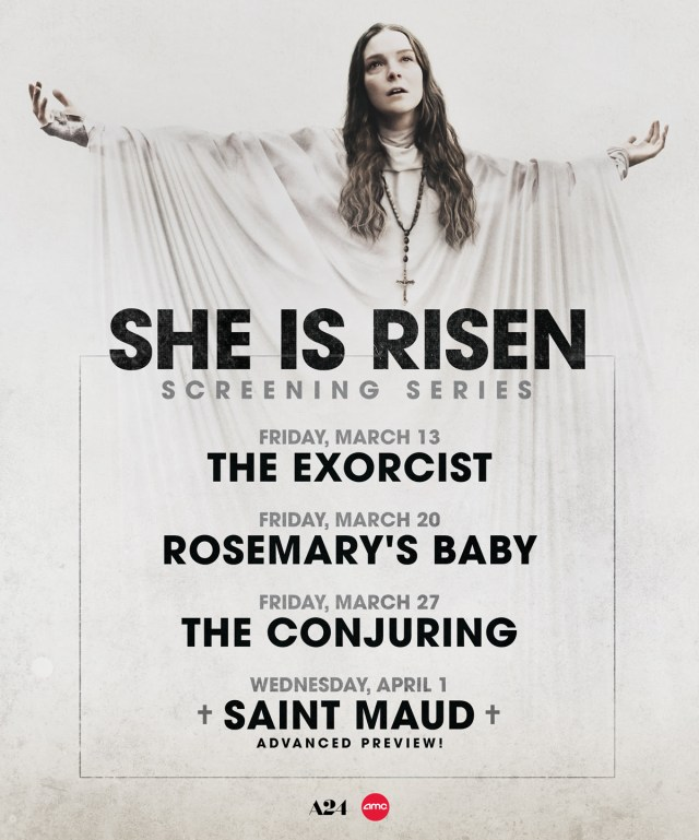 [News] AMC Launches She Is Risen Screening Series to Celebrate SAINT MAUD Arrival