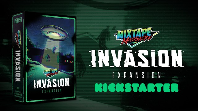 [News] MIXTAPE MASSACRE: INVASION Launches on Kickstarter