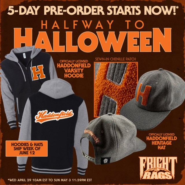 [News] Halfway to Halloween Means More Fright-Rags Halloween Merch and More!