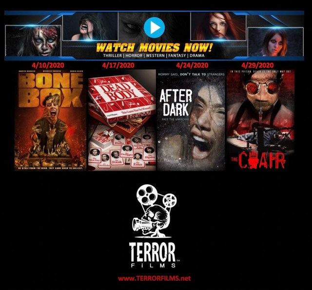 [News] Terror Films Teams with Watch Movies Now to Release 4 Free Horror Films in April!