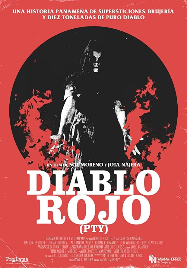 [News] Panama's First Horror Film DIABLO ROJO PTY Gets May Release Date!