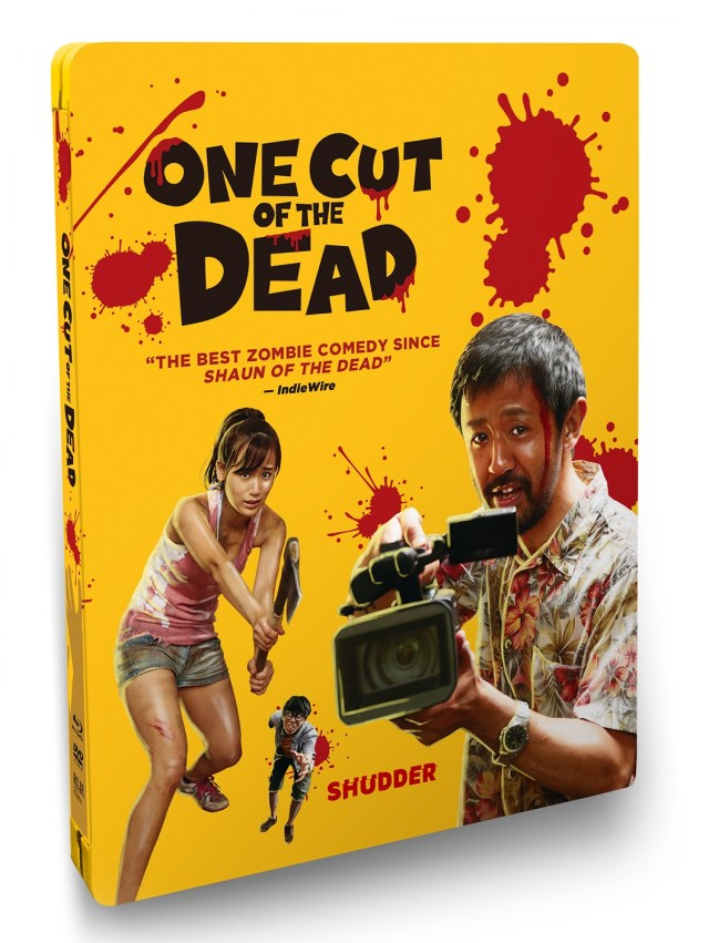 [News] ONE CUT OF THE DEAD Blu-ray Steelbook Arrives on June 2