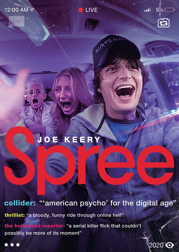 [News] SPREE Available on DVD and Blu-ray on October 20!