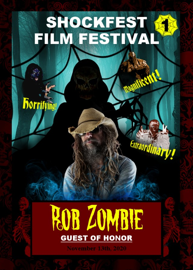 [News] Shockfest Film Festival Announces Rob Zombie as Guest of Honor