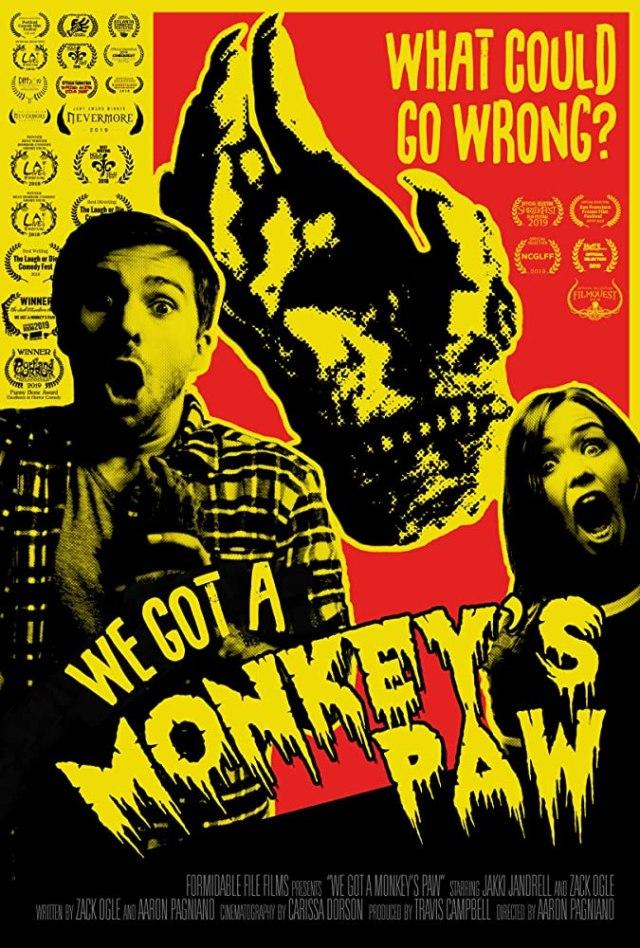 [Short Film Review] WE GOT A MONKEY'S PAW