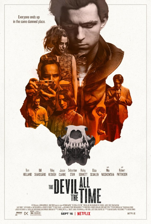 [News] THE DEVIL ALL THE TIME Debuts Main Key Art