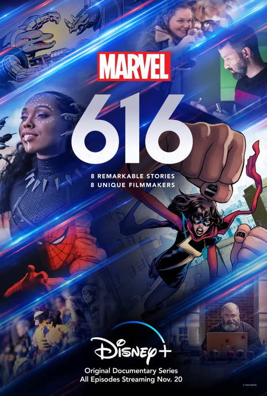 [News] Disney+ Drops Trailer for MARVEL'S 616 Anthology Docuseries