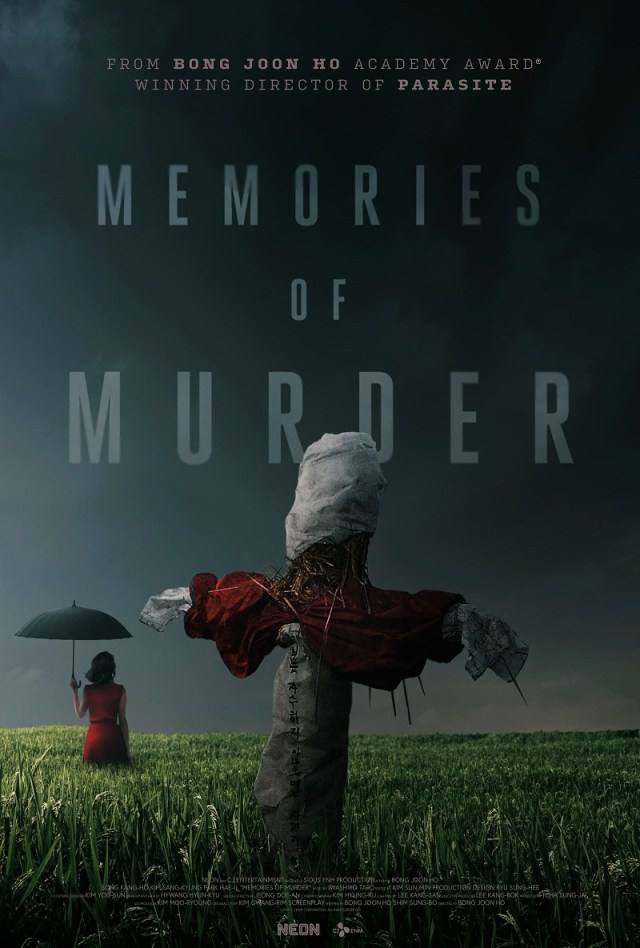 [News] Bong Joon Ho's MEMORIES OF MURDER Coming to Theaters on October 19-20