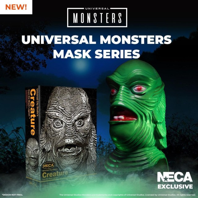 [News] NECA Unleashes Universal Monsters with Series of Limited-Edition Collectible Masks