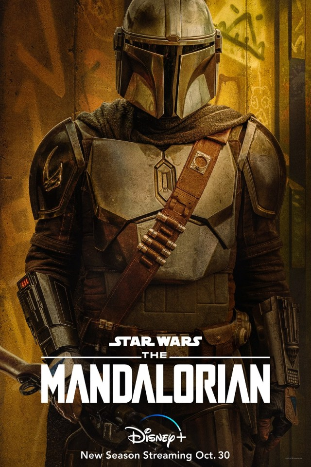 [News]  Disney+ Debuts All-New Character Art for THE MANDALORIAN Season 2