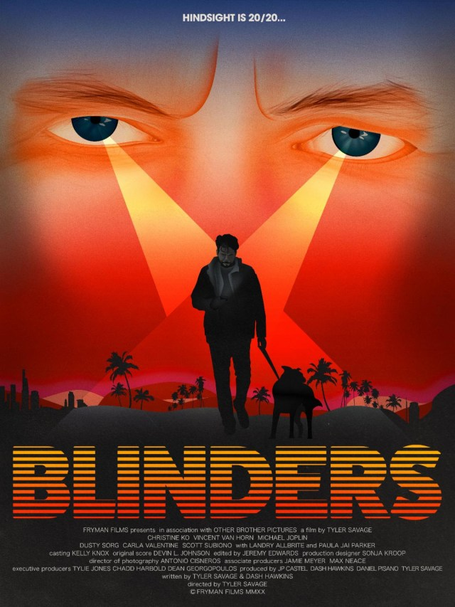 [News] Tyler Savage's BLINDERS Makes North American Debut at Austin Virtual Film Festival