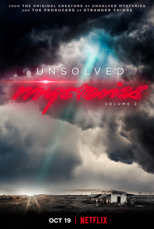 Poster Design for Volume 2 of UNSOLVED MYSTERIES