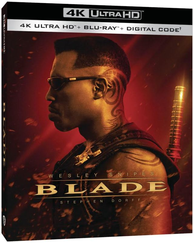 [Blu-ray/DVD Review] BLADE 4K Blu-ray