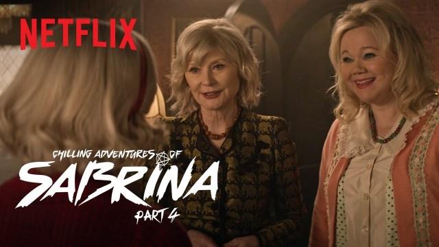[News] CHILLING ADVENTURES OF SABRINA Clip - Meet Sabrina's New (Original) Aunties