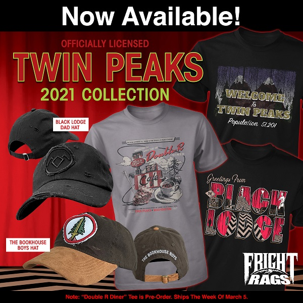 [News] Celebrate Twin Peaks Day with New Merch from Fright-Rags