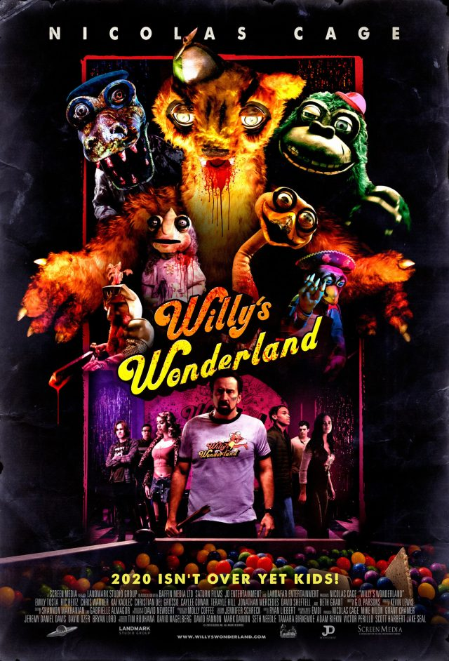 [Interview] G.O. Parsons for WILLY'S WONDERLAND