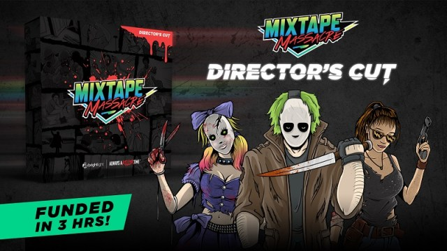 [News] Bright Light Kickstarts Mixtape Massacre: Director's Cut