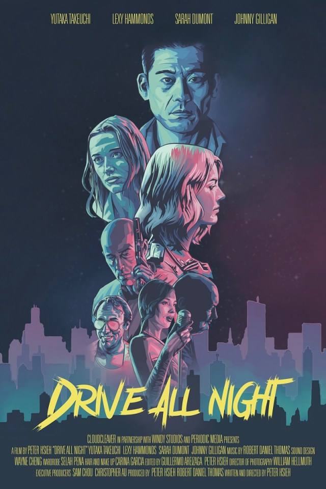 [News] DRIVE ALL NIGHT - The Neo Noir Thriller Will Debut at Cinequest
