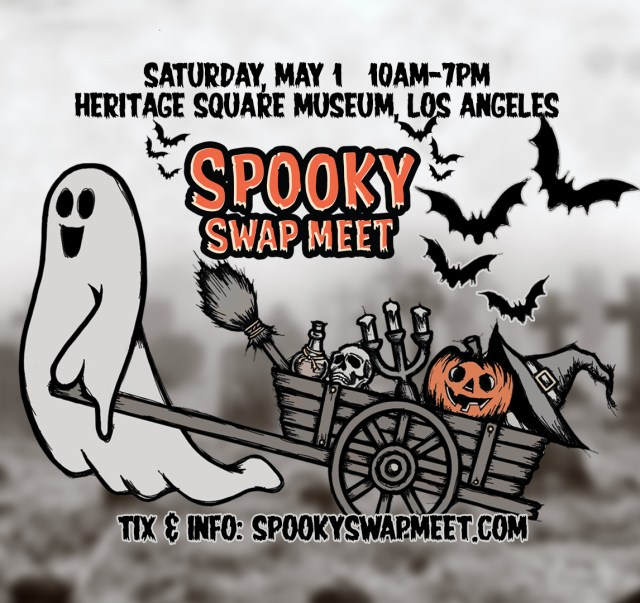 [News] Spooky Swap Meet Sets Up Shop at Heritage Square Museum May 1