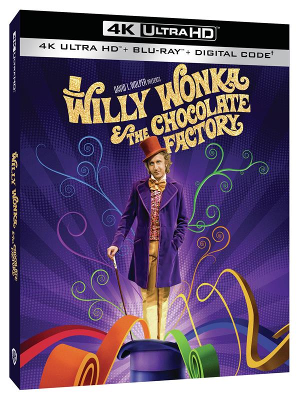 [News] WILLY WONKA & THE CHOCOLATE FACTORY Arrives on 4K Ultra HD June 29