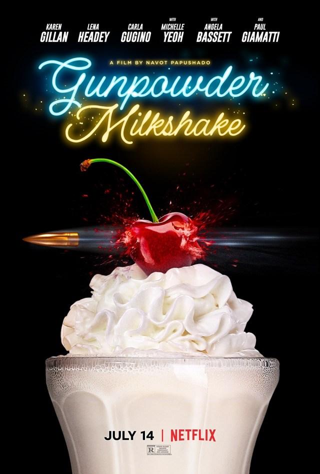 [News] Netflix Announces Release Date for GUNPOWDER MILKSHAKE