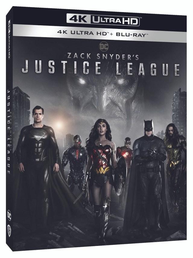 [News] ZACK SNYDER'S JUSTICE LEAGUE Arrives on 4K, Blu-ray & DVD September 7