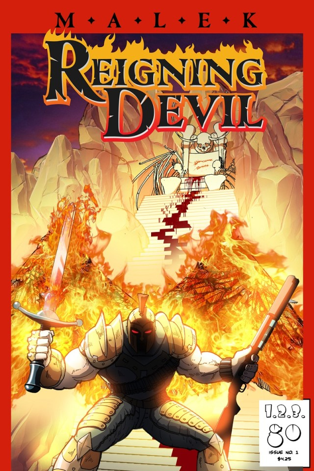 [Comic Issue Review] MALEK: REIGNING DEVIL #1