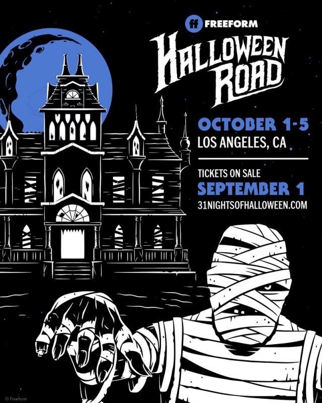 [Event Recap] Freeform's Halloween Road