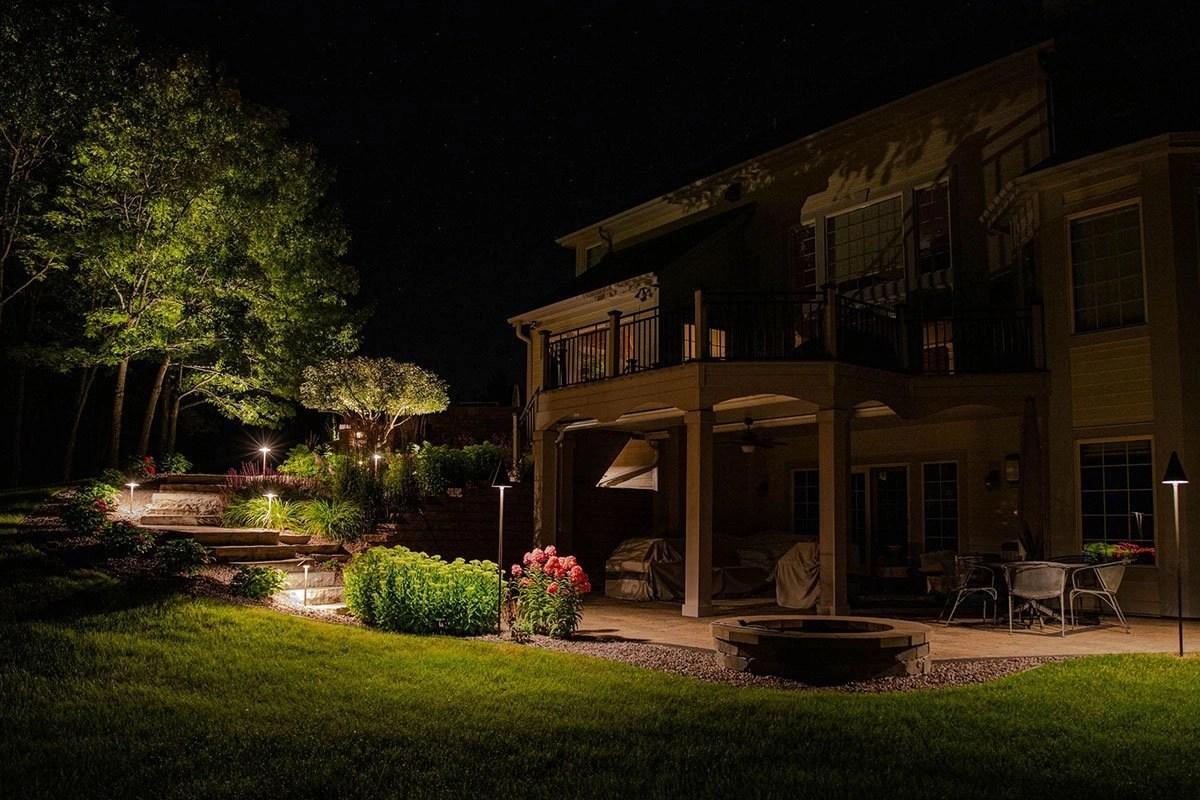 pewaukee outdoor lighting portfolio