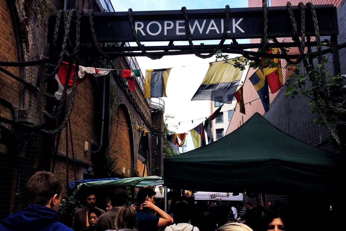 The Ropewalk, Maltby Street Market