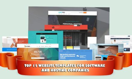 Top 15 Website Templates for Software and Hosting Companies