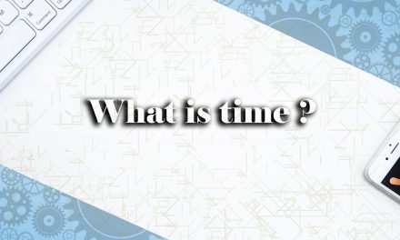 What Exactly Is time ?