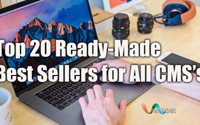 Top 20 Ready-Made Best Sellers for All CMS's