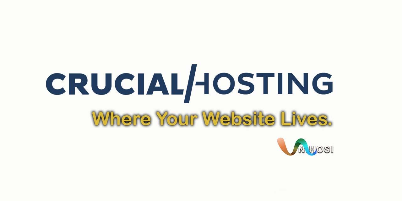 Crucial Hosting | Where Your Website Lives.